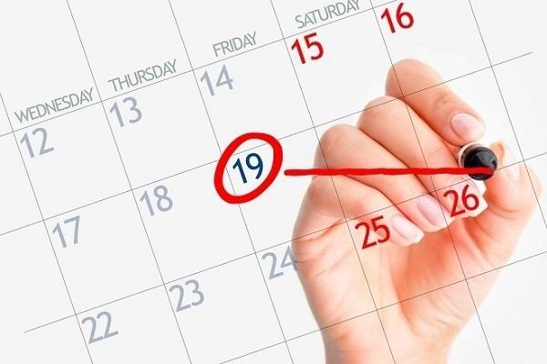 Quá trình rụng trứng thường vào khoảng từ ngày 11 đến ngày 21 của chu kỳ